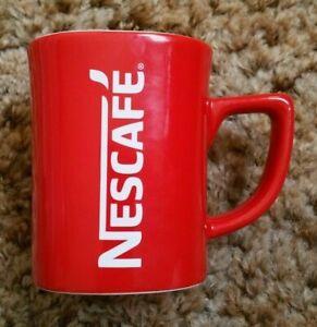 Square Nescafe Coffee Cup / Mug - Morning Kiss #cheekymug - 9cm tall
