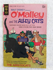1971 Gold Key Walt Disney Presents O'Mally And The Alley Cats #2 VG+