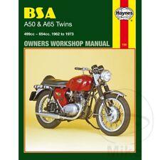 MANUALE DI RIPARAZIONE IN INGLESE PER BSA A65 650 2S SPITFIRE MKIII 1967-1968