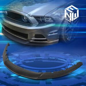 For 13-14 Ford Mustang Matte RP Style Front Lower Bumper Lip Splitter Spoiler