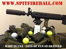 5.56 .223 BLAST DEFLECTOR OR GOLF BALL LAUNCHER SPITFIREBALL