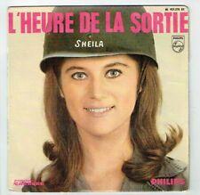 SHEILA Vinyle 45 tours EP L'HEURE DE LA SORTIE Film BANG BANG 13é Disque 437.270