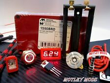 Unregulated,Box Mod Kit DiY,Hammond 1590B,3034 Mosfet,510 Connector*Motley Mods*