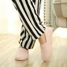 Cotton Fabric Indoor Slippers Women Warm Soft Sole Slip On Ladies Winter Shoes