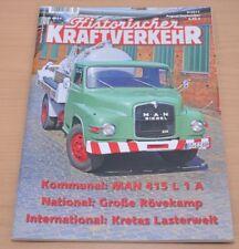 Historischer Kraftverkehr HIK 5/15 Saurer TGX MAN MK 450 TLF16 Büssing MAN26.331