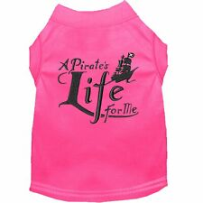 Mirage Pet Products A Pirate's Life Embroidered Dog Shirt Bright Pink Lg (14)