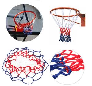 Basketball Net Hoop Netting Red White Blue Standard Nylon Goal Rim Mesh Durable