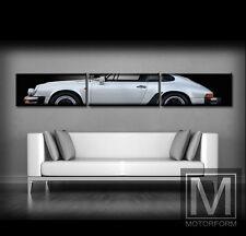 Porsche 911 Carrera G Modell Leinwand mit Keilrahmen Bild Poster 2,50m breit