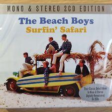 2CD NEW - THE BEACH BOYS - SURFIN' SAFARI - Surf Pop 60's Rock Music 2x CD Album
