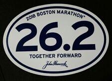 2018 Boston Marathon Official 26.2 Car Bumper Sticker Decal