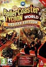 Rollercoaster Tycoon World Deluxe Edition - PC DVD - New & Sealed