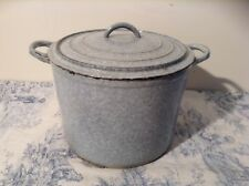 Le Creuset Style Enamelled Cast Iron Casserole Pot with Lid - Blue (3190)