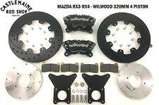 MAZDA RX3 RX4 WILWOOD 320mm 4 PISTON CALIPER BRAKE UPGRADE
