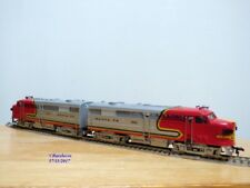 FLEISCHMANN # 1341/2 S-2, couplage locos diesel ALCO FA1 A+A  SANTA FE  neuf  BO