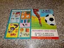 ALBUM CALCIATORI L'ABC DEL CALCIO LA FOLGORE 1967 1968 COMPLETO ORIGINALE NUOVO