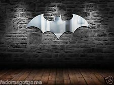 Batman Logo Mirror DC Comics Batman Shaped Mirror 28X13 Inches