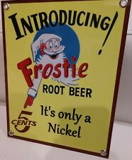 Frostie soda pop beverage  Sign...#4
