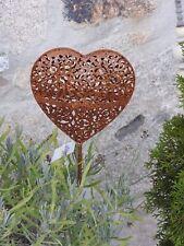 Edelrost Optik Herz Gartenstecker Animo 10130 Garten Muttertag Terrasse Beet