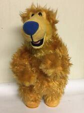 Vintage Bear Blue House Sings Dancing Cha Cha Plush Stuff Working Mattel Large