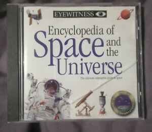 CD ROM  -  EYEWITNESS ENCYCLOPEDIA OF SPACE AND THE UNIVERSE (EDUCATIONAL) DK
