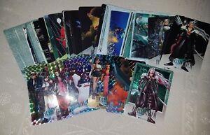 Lot de 55 cartes Final Fantasy VII (FF7) carddass rare! Cards laser