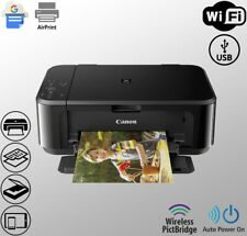 Wireless Canon Printer Scanner Copier All-in-One Duplex WiFi (Ink Not Included)