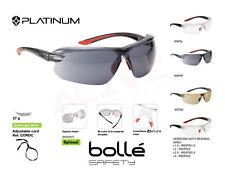 Bolle IRI-S Gafas de seguridad disponibles con área de lectura de dioptrías +1.5, 2, 2.5, 3