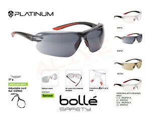 Bolle IRI-S Safety Glasses Available With Dioptric Reading Area +1.5, 2, 2.5, 3