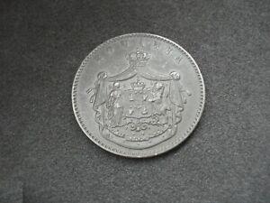 Romania, 10 Bani, 1867, Watt & Co., very nice