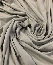 Bamboo Tencel Spandex Jersey Knit Fabric Ecofriendly HighEnd  DRIZZLE   10 oz
