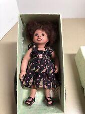 "African American Gail Mccardle Full Porcelain 8"" ""KENYA"" Artist Doll #13/250 NIB"