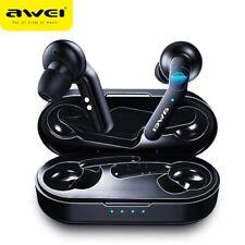 AWEI T10C TWS Wireless  Bluetooth  Earphone Headphones Tap Control Headset