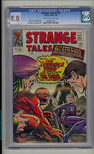 Strange Tales #129 CGC 8.0 VF Marvel Terrible Trio Fantastic Four OW/W Pages