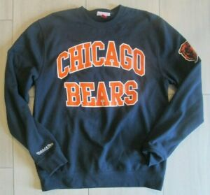 Mitchell & Ness NFL Chicago Bears Crewneck Sweatshirt Adult Men's Large L
