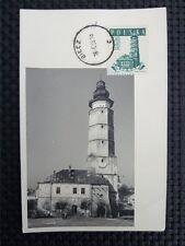 Poland Mk 1958 Town Hall biecz Maximum Card Carte Maximum Card Mc cm c3886