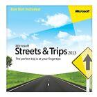 Microsoft Streets & Trips 2013 - 3 PC's