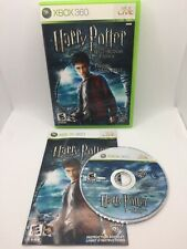 Harry Potter and the Half-Blood Prince (Microsoft Xbox 360, 2009) - CIB Complete