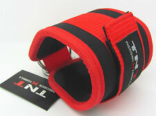 Gym Ankle Strap TNT D-Ringed for any cable attachment (RED) Kickbacks,Glute,Foot