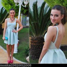 Zara * SALE * Blue Tiermotiv Jacquard Tulpen KLEID GRÖßE L LARGE REF 2274 496