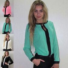 Classic Chiffon Blouse Plus Size for Women