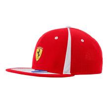 Scuderia Ferrari F1 Kimi Raikkonen Flatbrim Cap Hat Official 2018 Formula 1 Red