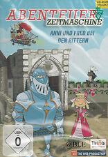 PC CD-ROM + Abenteuer Zeitmaschine + Anni und Fred bei den Rittern + Win / Mac