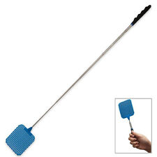 73cm Telescopic Extendable Fly Swatter Prevent Pest Mosquito Tool Plastic HL