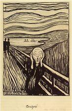 Edvard Munch:The Scream - 'Geschrei' - Fine Art Print