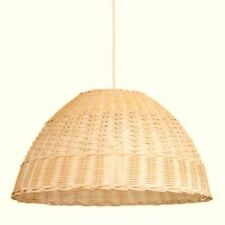 Natural Rattan Weaved Light Shade Ceiling Pendant Modern Unique