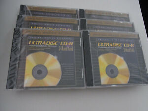 6 x  Ultradisc CD-R   ( Gold )    Mfsl