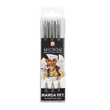 Sakura Pigma Micron Manga Pen Set of 3 Black