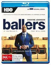 Ballers - Season 3 Blu-Ray [New/Sealed] Region B