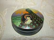 Antique Collectable Dainty Dinah Mixed Toffees Tin Box - 1920's