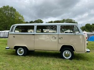 VW T2 1976 1.6 Classic Historical Camper Van Motorhome FULLY REBUILT & PRESERVED